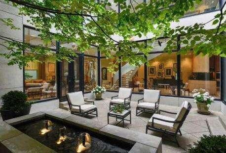 家里的院子这样设计,比传统庭院美上十倍!