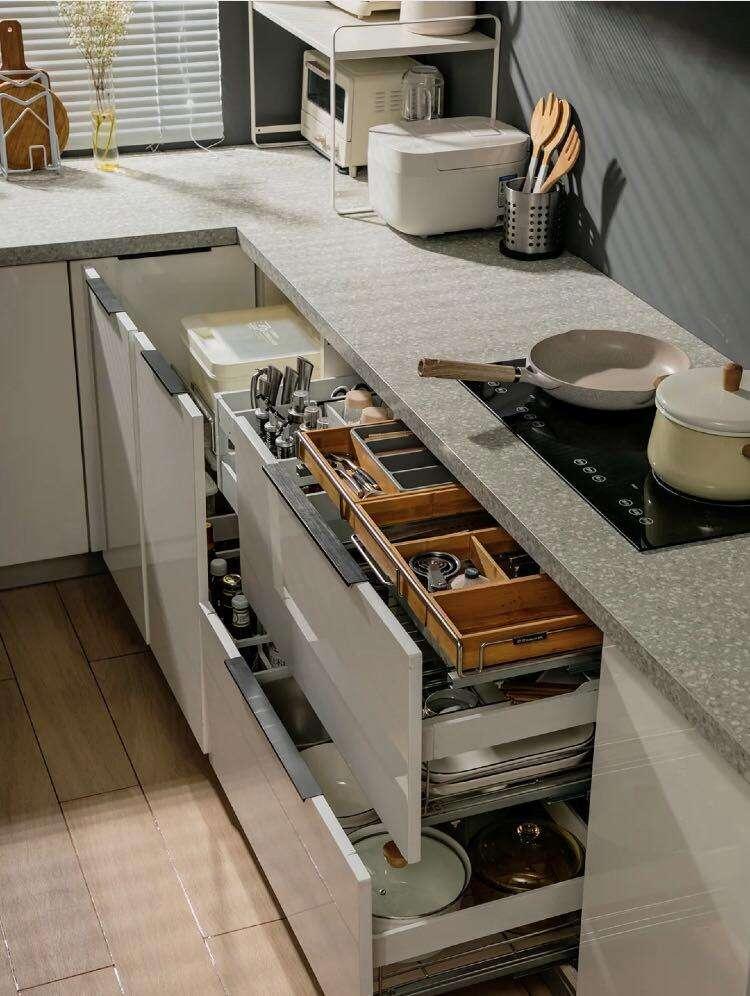 4.8㎡的厨房设计,这4个细节很关键,装修效果被婆婆称赞100遍